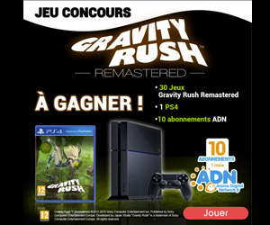 Concours Gravity Rush